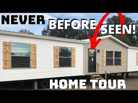 NEVER BEFORE SEEN MOBILE HOME! Brand New Double Wide By Winston Homebuilders | Home Tour