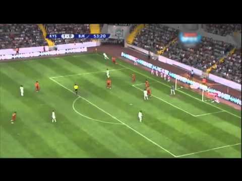 Kayserispor:1 Beşiktaş:1 Hazırlık Maçı Özeti !