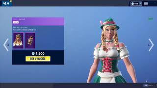 OMEN & LUDWIG SKINS! (Fortnite Item Shop October 29th)