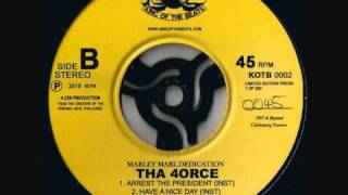 MARLEY MARL DEDICATION: Tha 4orce - Arrest The President (Instrumental). KOTB Records 2010.