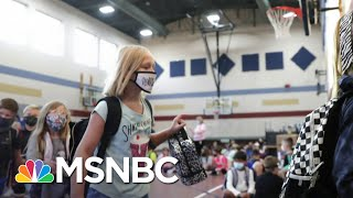 The Debate Over Reopening Schools Continues As More Children Test Positive   Deadline   MSNBC