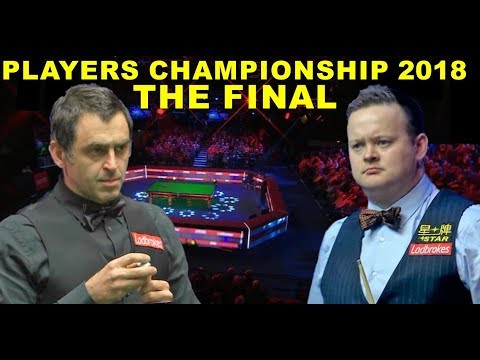 O'Sullivan v Murphy FINAL 2018 Players Championship Snooker