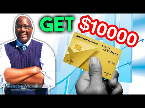 Delta Credit Cards   How to Get $10k Amex Delta Credit Card 2021? - Видео онлайн