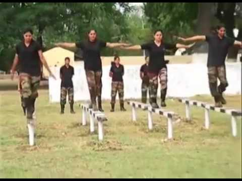 Pakistan Army girls training