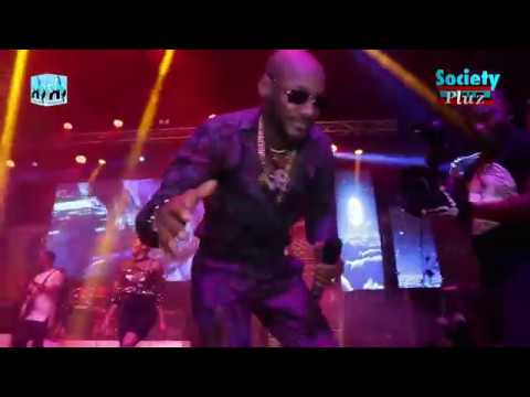 "2FACE IDIBIA ""2BABA"" MASTERCLASS PERFORMANCE AT FELABRATION 2018"
