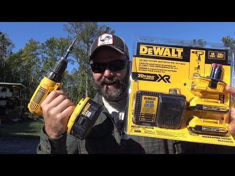 Farm Update and: Upgrade old 18v Dewalt cordless tool: 20v lithium ion adapter kit review
