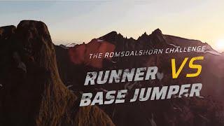 RUNNER VS BASE JUMPER - The Romsdalshorn Challenge