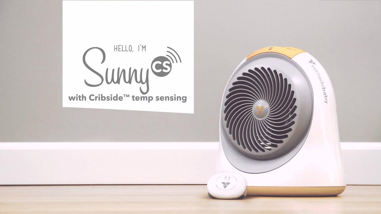 Meet Sunny Cs Vornadobaby Nursery Heater With Cribside Temp Sensing