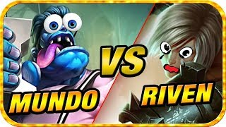 Just a Normal Mundo vs Riven Matchup | League of Legends Montage