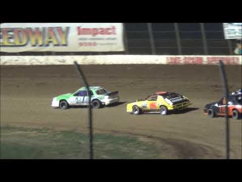 Lake Ozark Speedway Mini stock Feature  7-28-18