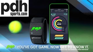 New Babolat POP version 9 Tennis Connected Wristband preview