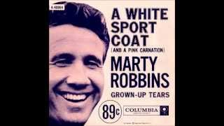 Marty Robbins - White sport coat and a pink carnation