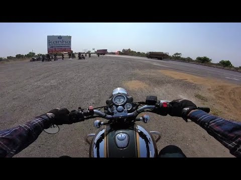 This is how Royal Enfield performs on the highway