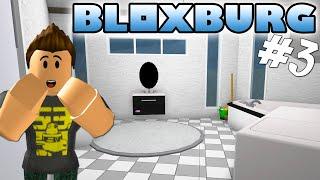 NEW JOB AND BUILDS TOILET! -ROBLOX Bloxburg English Ep 3