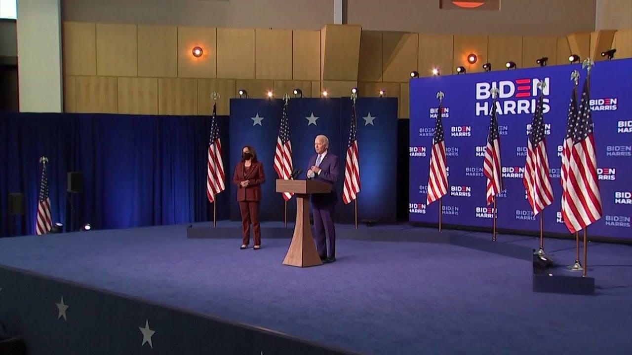 """Biden no se declaró ganador, pero sí adelantó: """"Cuando se cuenten todos los votos, ganaremos"""""""