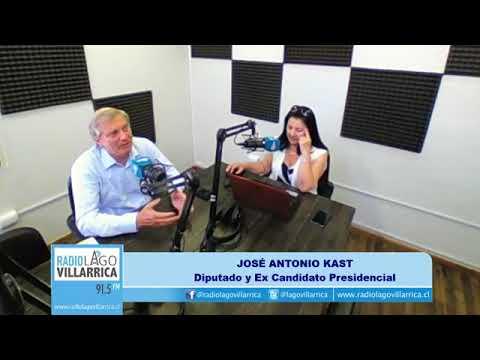 Entrevista a José Antonio Kast en Radio Lago Villarica