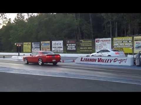2013 Ford SHO vs SRT8 @ Lebanon Valley Speedway 2nd Race