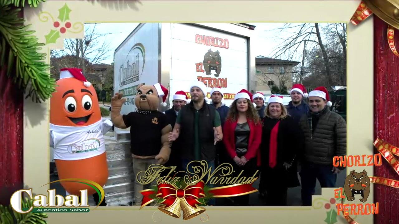 Chorizo Cabal El Perron Christmas Greetings Youtube