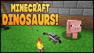 Minecraft Dinosaurs! || 513 || Baby Anky Where Are You?
