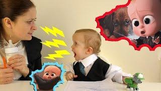 БОСС МОЛОКОСОС орет на секретаря Прикол бос-молокосос кричит The boss baby руский трелер милый малыш