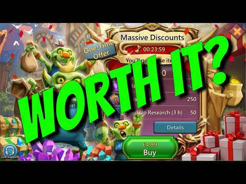Massive Discounts! Worth It? - Lords Mobile