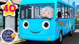 Räder auf Dem Bus Original | Bus Lied für Kinder + More Nursery Rhymes & Kids Songs | Little Baby Bum