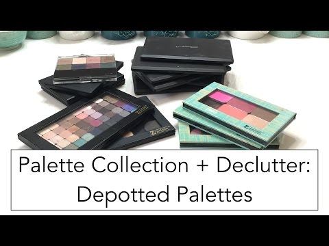 Palette Collection + Declutter: Depotted Palettes