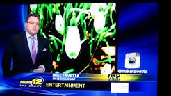 News 12 The Bronx's Meteorologist Mike Favetta sharing my Instagram photo