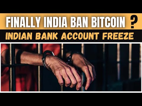 FINALLY BITCOIN BANNED IN INDIA ? | BANK ACCOUNT FREEZE | CRYPTO TRANSACTION IN BANK NOT ALLOWED