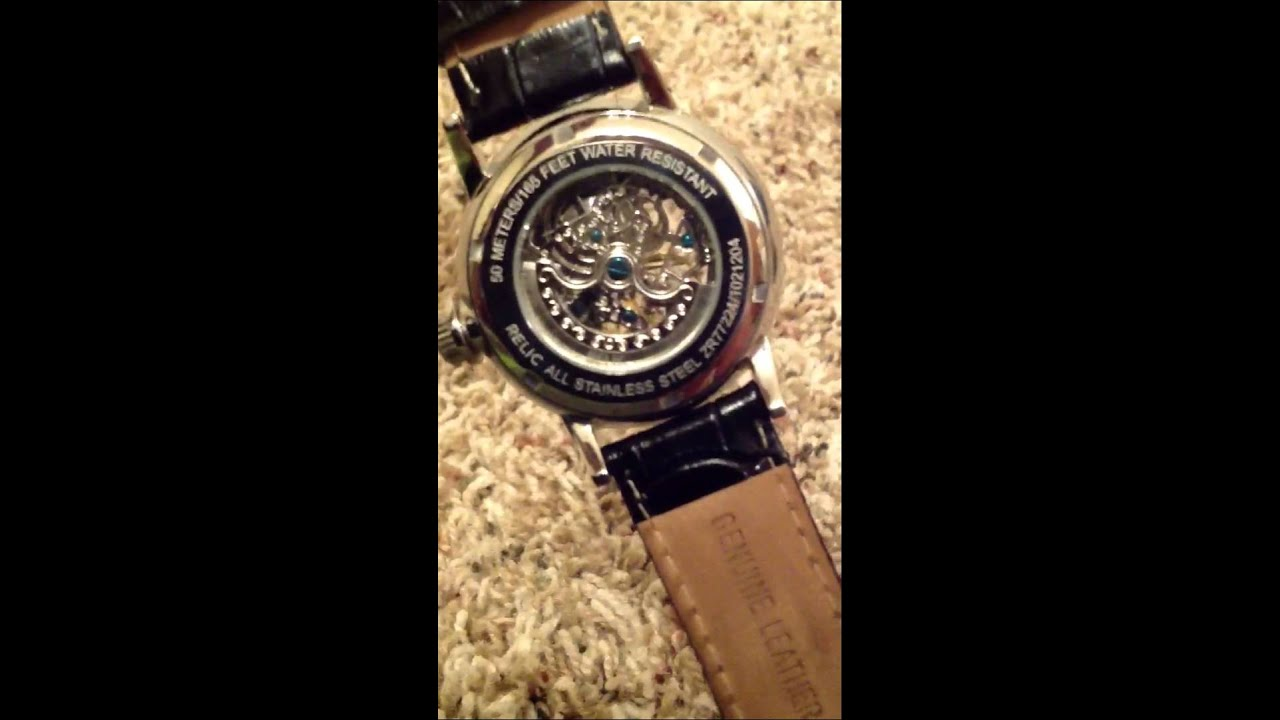 Relic Automatic Watch Unboxingreview Youtube