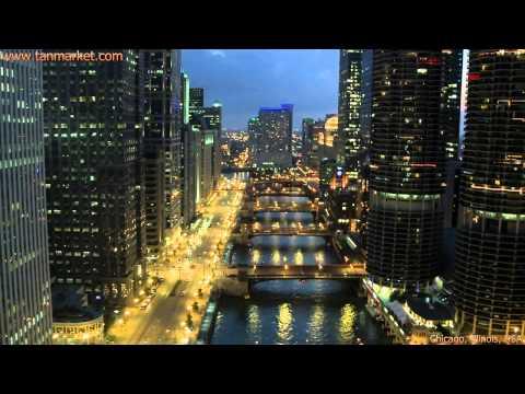 Chicago 1, Illinois, USA, Collage Video - youtube.com/tanvideo11