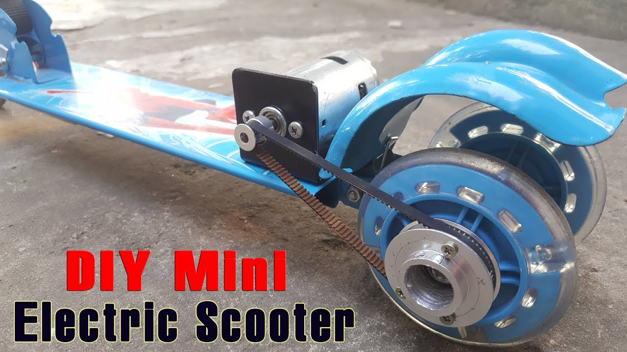 How to make a scooter