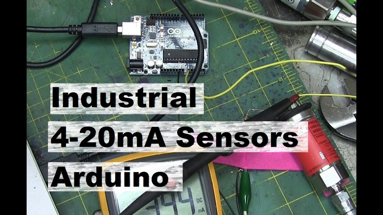 4 20ma Industrial Sensor Arduino Youtube Temperature Current Loop Transmitter Circuit Schematic Diagram
