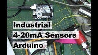 4-20mA Industrial Sensor + Arduino