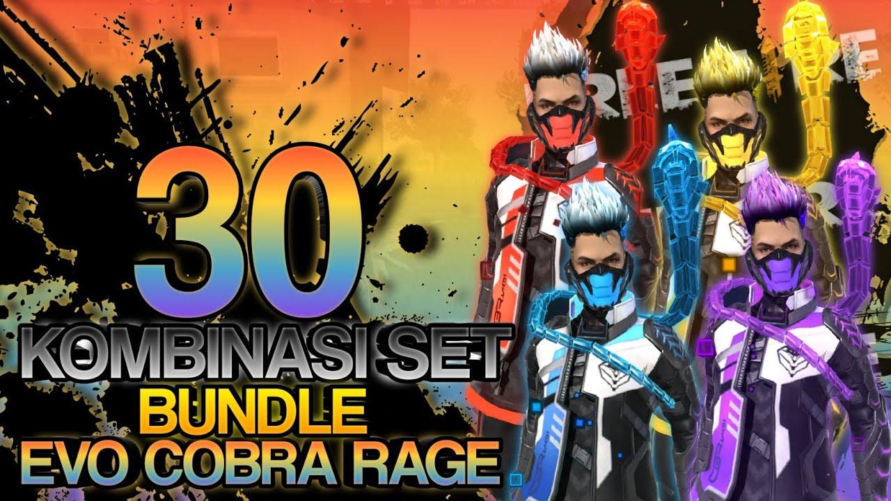 Kombinasi Set Bundle Evo Cobra Rage Keren Banget Wajib Nonton Free Fire Youtube