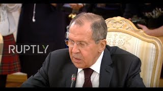 Russia: Inter-Syrian dialogue will defeat terrorism in Syria - Lavrov