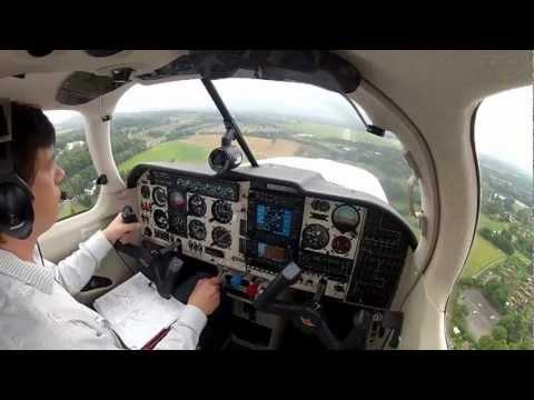 Mooney Bravo Landing EDLE Essen-Mülheim