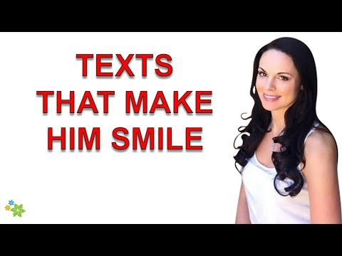How to make someone stop being sad happy over text when hes