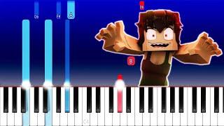 Zombie Girl - Minecraft Music - Zamination (Piano Tutorial)