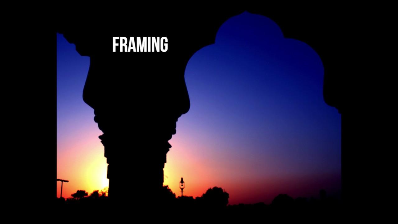 Framing - Art Vocab Definition - YouTube