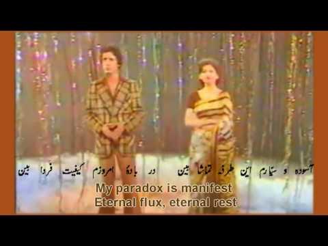 Muhammad Ali Shehki & Mehjabeen Qazalbash(PTV live) -- nawa-i-waqt(Song of time)