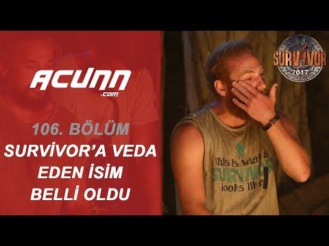 Survivor 2017'ye Veda Eden İsim Belli Oldu!  | Bölüm 106 | Survivor 2017