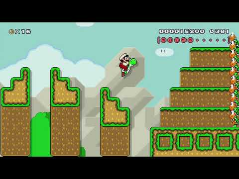 Mario Generations Part 13-6 by Nman - Super Mario Maker - No Commentary