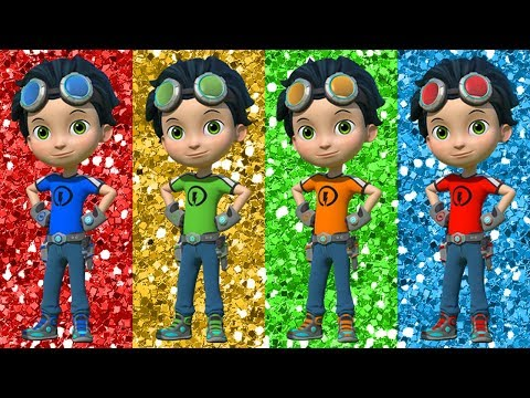 Learn Colors with Rusty Rivets Nursery Rhymes Fun Videos for Children Kids Learning