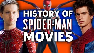 The History Of Spider-Man Movies