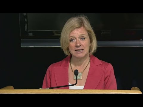 Premier Rachel Notley's Sunday afternoon update on Fort McMurray wildfire