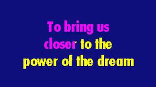 Celine Dion The Power Of The Dream Karaoke