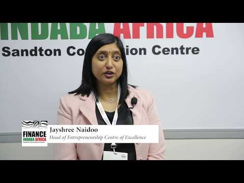 Finance Indaba Africa 2017: Jayshree Naidoo, Head of Entrepreneurship Centre of Excellence