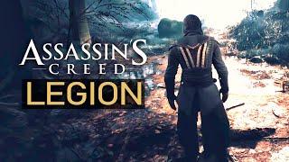 Засветился Assassin's Creed: LEGION - Обложка игры, 2 части ассасина (AC: Legion 2020)