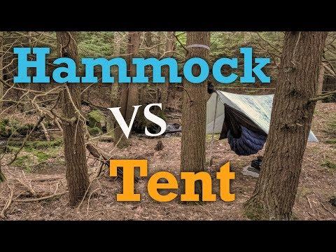 Hammock Vs Tent - Why I DON'T use a Hammock